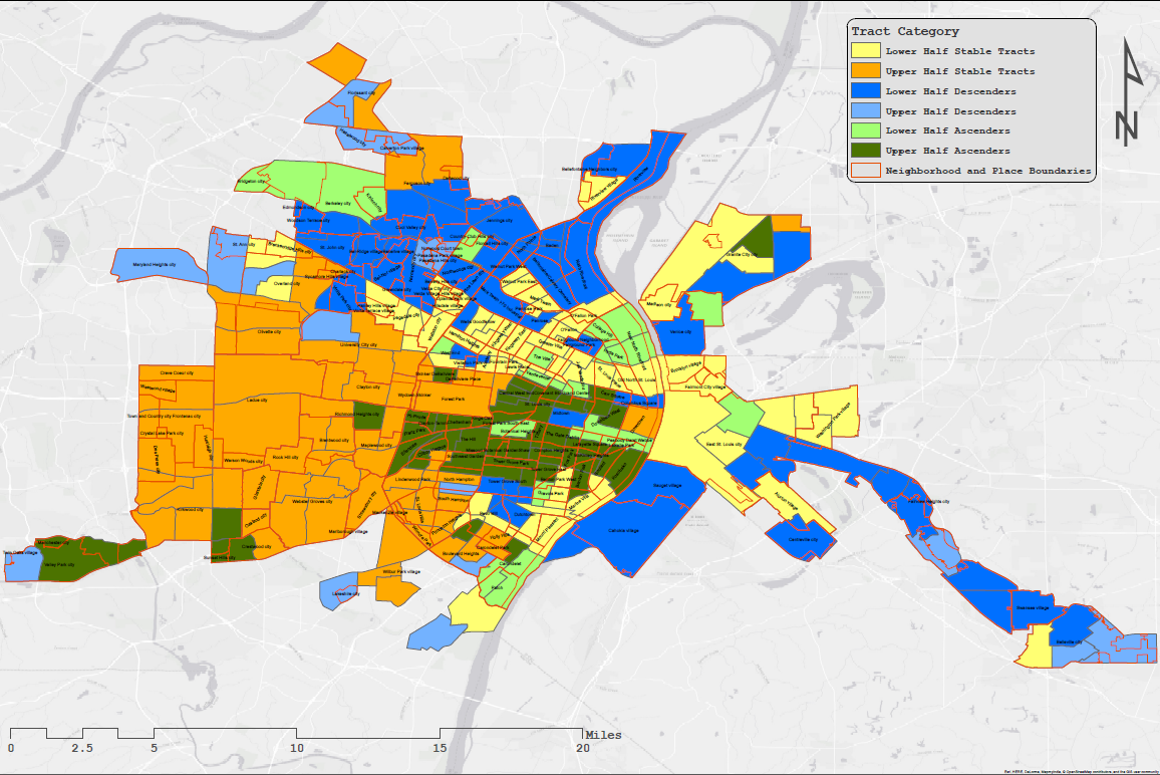 Six-Party Typology of St. Louis Neighborhoods